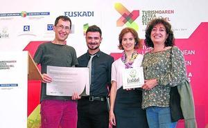 El Hostal Mélida de Ermua, primero en el Estado en recibir la Etiqueta Ecológica Europea