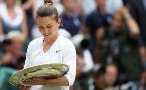 Simona Halep deja a Serena Williams otra vez sin récord