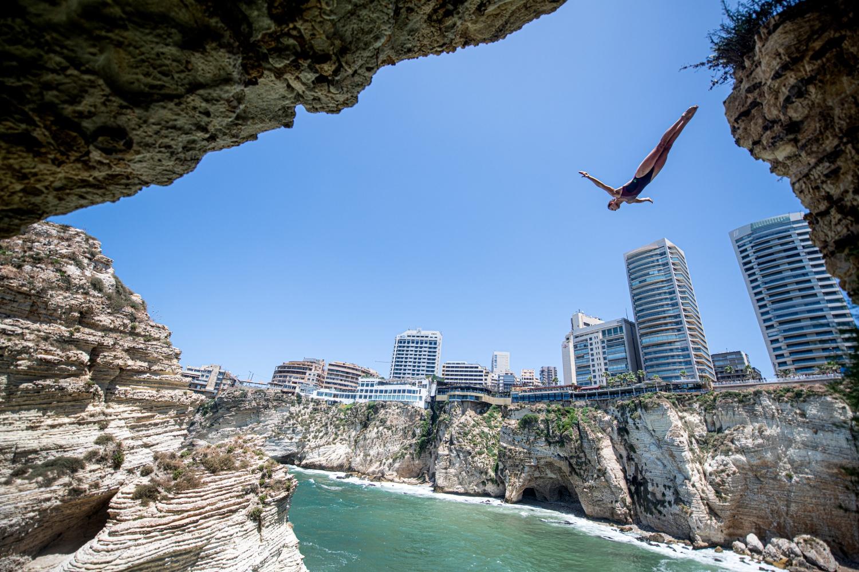 Los saltadores compiten en Beirut a dos meses de asombrar a Bilbao