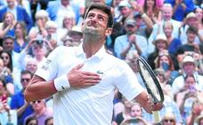 Djokovic reina en la final más larga