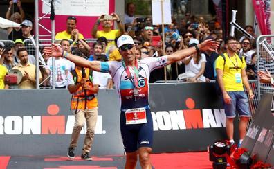 Eneko Llanos se exhibe en el Ironman de Vitoria