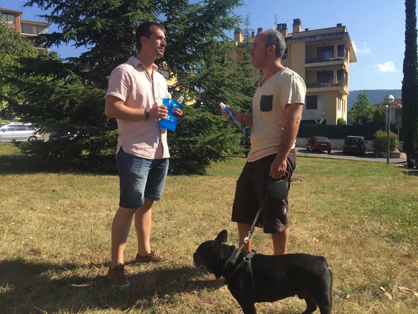 Los perros, eje de una encuesta y una campaña de limpieza en Amurrio