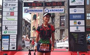 La vizcaína Oihane Pérez gana la maratón de la Ehunmilak