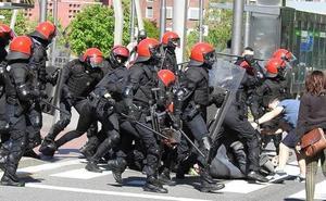 El juicio contra los cinco detenidos durante los altercados por el mitin de Vox en Bilbao será en septiembre