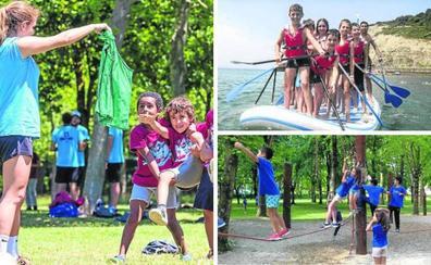 Los colegios ofrecen cerca de 4.000 plazas en colonias para aliviar a las familias en verano