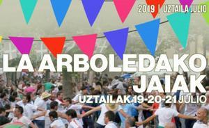 Programa de fiestas de La Arboleda 2019: Madalen Jaiak