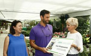 El ganador del 'rincón green' recibe 150 euros de premio