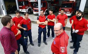 La promoción interna dejará vacantes varias plazas de bomberos en el parque de Miranda