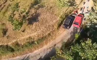Trasladado en helicóptero tras sufrir un accidente en quad en Güeñes