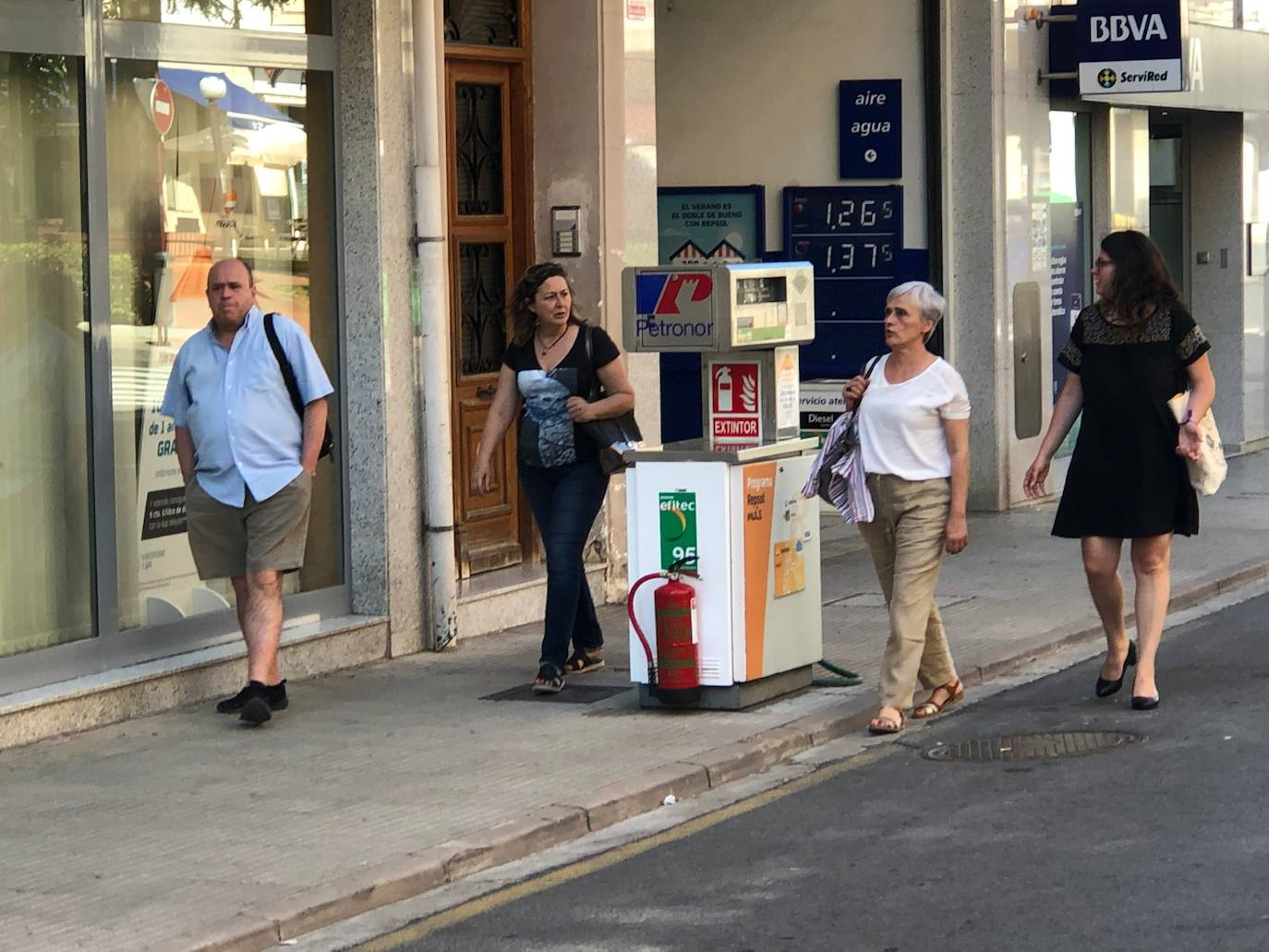 Romero respaldará la solicitud de traslado de la gasolinera jarrera