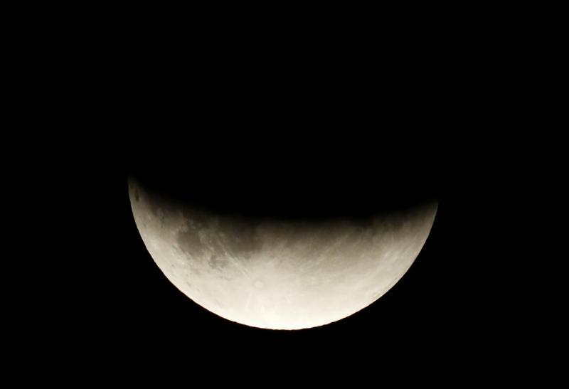 Las mejores imágenes del eclipse lunar del 16 de julio de 2019