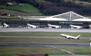 Aterriza en Bilbao un vuelo París-Oporto por una emergencia médica de una pasajera