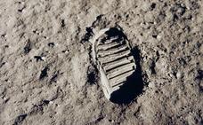El pésame de Nixon para los astronautas del 'Apolo 11'