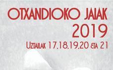 Programa de fiestas de Otxandio 2019: Santamañak