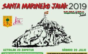 Programa de fiestas de Urduliz 2019: Santa Marineko jaiak