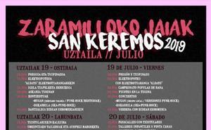 Programa de fiestas de Zaramillo 2019: San Keremos