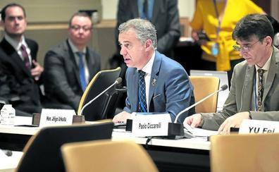 Urkullu ensalza en la ONU la «relación bilateral» entre Euskadi y el Estado