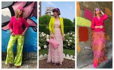 Así reinterpretan estas 15 mujeres con estilo la prenda que les regalaron en Bilbao