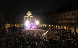 Conciertos en la Plaza Nueva en Aste Nagusia 2019: horarios y grupos