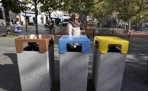 Bermeo reparte tarjetas para activar el contenedor para residuos orgánicos