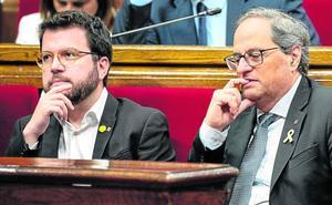 El secesionismo ahonda su fractura y frustra la última bala de Sánchez para su investidura
