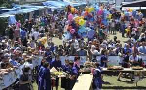 Santa Ana marca el inicio del maratón festivo de Getxo