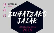 Programa de Fiestas de Zuaza 2019: Zuhatzako Santa Marina Jaiak