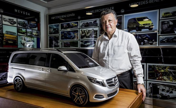 La trayectoria de Emilio Titos en Mercedes, en imágenes