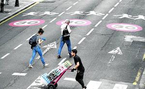 Los accidentes bajan un 10% en Bilbao tras implantar el límite de 30 kilómetros por hora