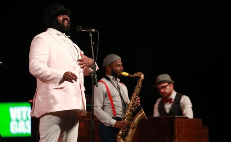 El concierto de Gregory Porter en el Festival de Jazz Vitoria 2019, en imágenes