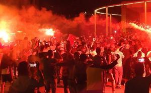 Bilbao La Vieja vibra con la Copa África de Argelia