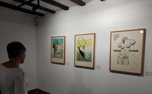 Dalí deslumbra Durango con sus grabados