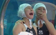 Un mar de lágrimas tras el primer tanto en un Mundial