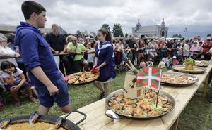 Los organizadores de paellas de Aixerrota compran toldos ignífugos