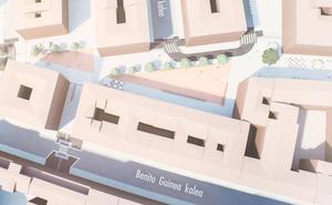 Un millón de euros para peatonalizar la calle Médico Tornay de Vitoria