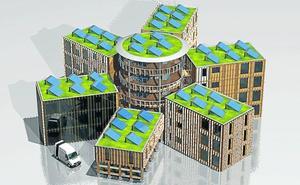 Una firma busca suelos en Bizkaia para edificar los 'pisos colmena' vetados en Barcelona por infravivienda