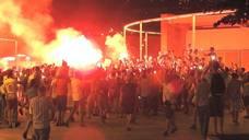 Los argelinos toman Bilbao La Vieja tras ganar la Copa África