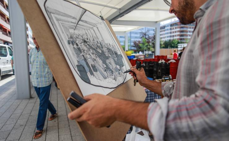 XIII edición del Certamen de pintura al aire libre de Vitoria