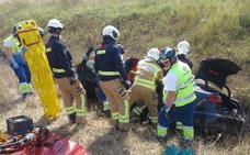 Tres heridos son evacuados al hospital tras registrarse dos accidentes en la A-1 en Salvatierra