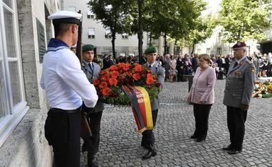 Alemania rinde homenaje a sus héroes del atentado fallido contra Hitler