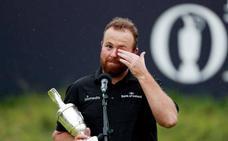El irlandés Shane Lowry gana el Open Británico, primer grande de su carrera