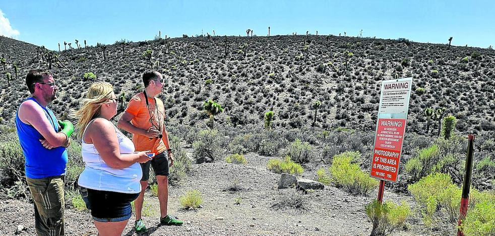 Más de 1,7 millones de personas al asalto de la base marciana de Nevada