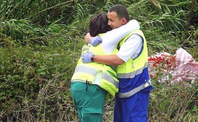 Los sanitarios intentaron reanimar al bebé de Güeñes durante más de una hora