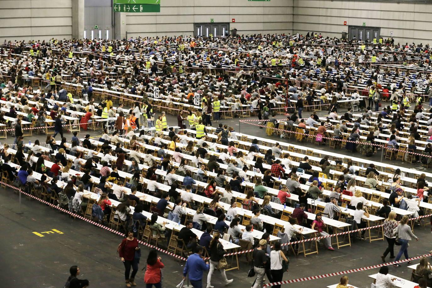 Más de 350 apuntados a la OPE de Osakidetza que ensayará nuevas medidas