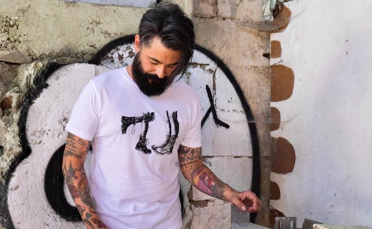 Risto Mejide, ¿el próximo en llevar las camisetas más 'punkies' de Bilbao?