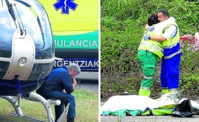 «Nos echamos todos a llorar cuando no pudimos salvarle, nadie está preparado para esto»