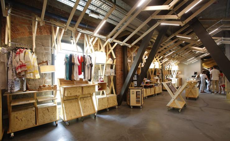 Una tienda de diseño intentará relanzar el área comercial vasco