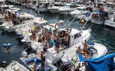 Herido grave un joven tras saltar al agua en Elantxobe y golpearse con un barco en Madalenas