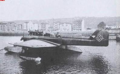 Un hidroavión nazi en Sestao