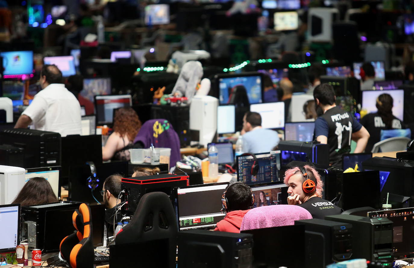 Euskal Encounter despegará mañana con 5.000 ordenadores conectados